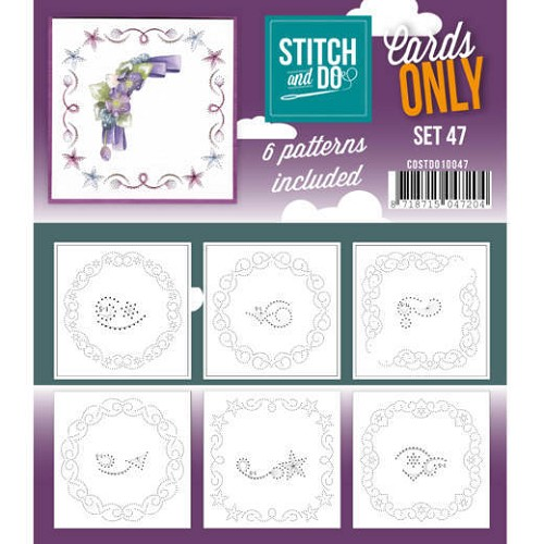 Stitch & Do - Cards Only - Set 47 - COSTDO10047