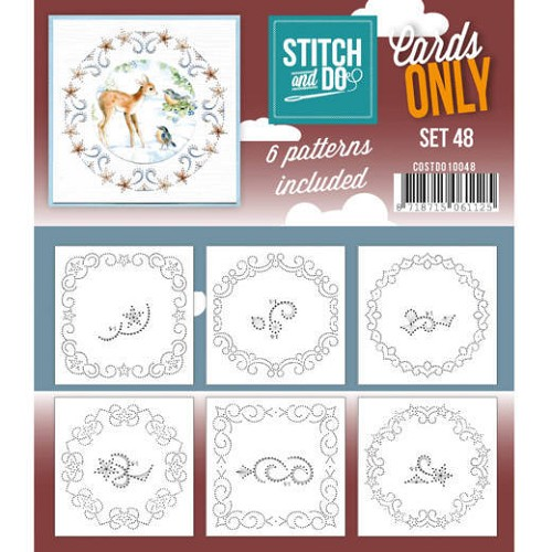 Stitch & Do - Cards Only - Set 48 - COSTDO10048