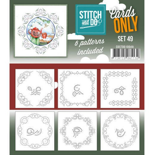 Stitch & Do - Cards only - Set 49 - COSTDO10049