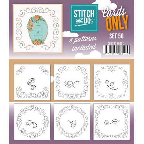 Stitch & Do - Cards Only - Set 50 - COSTDO10010