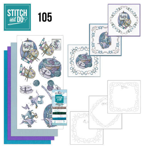 Stitch and Do 105 Crafting - STDO105