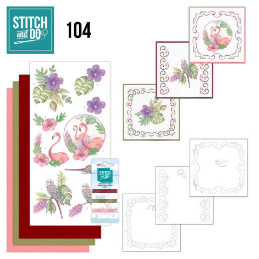 Stitch and Do 104 In the TropicsStitch and Do 104 In the Tropics - STDO104
