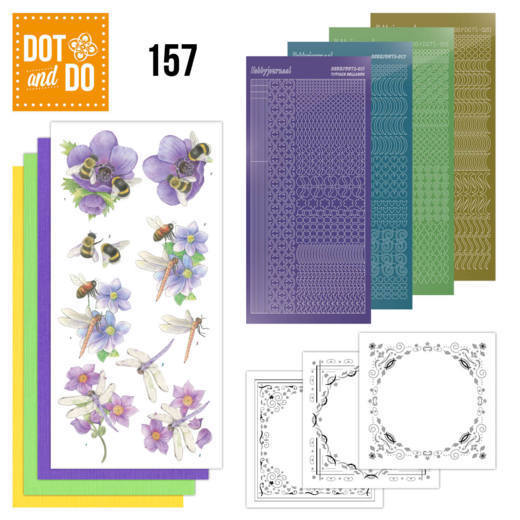 Dot and Do 157 Bees and Dragonflies - DoDo157