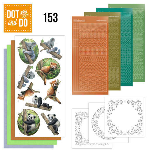 Dot and Do 153 Wild Animals - DoDo153