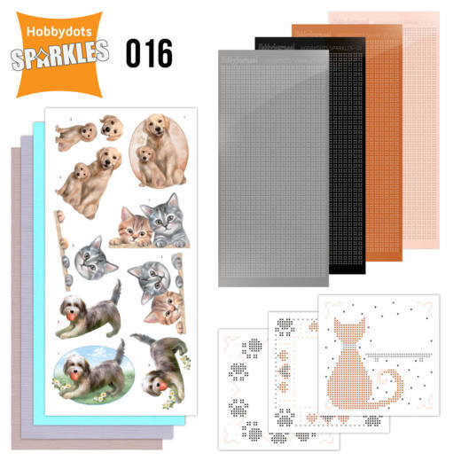 Sparkles Set 16 - Cats & Dogs - SPDO016