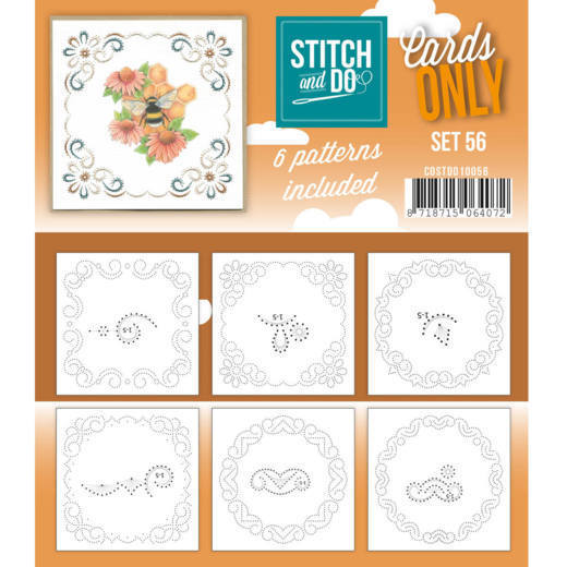 Cards only Stitch 56 - COSTDO10056