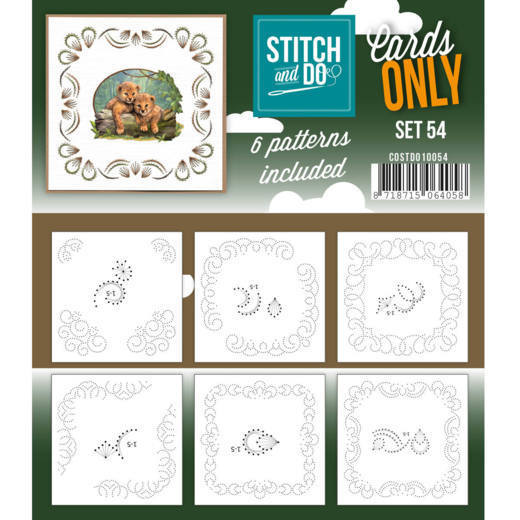Cards only Stitch 54 - COSTDO10054