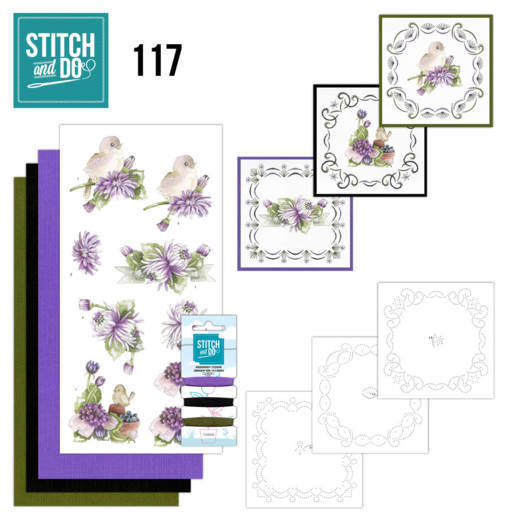 Stitch and Do 117 Chrysanthemum - STDO117