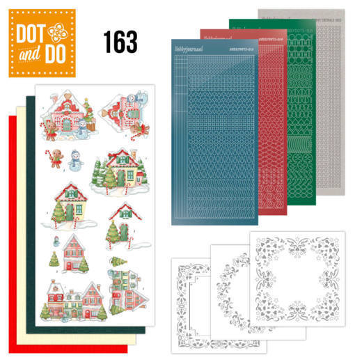 Dot and Do 163 Sweet Houses - DODO163