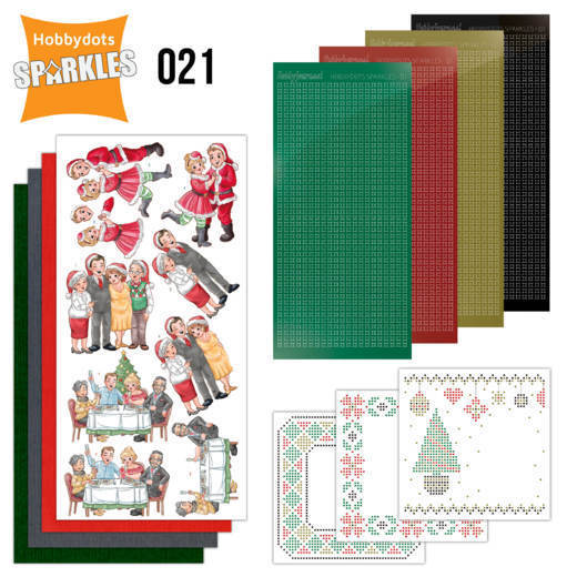 Sparkles Set 21 - Family Christmas - SPDO021