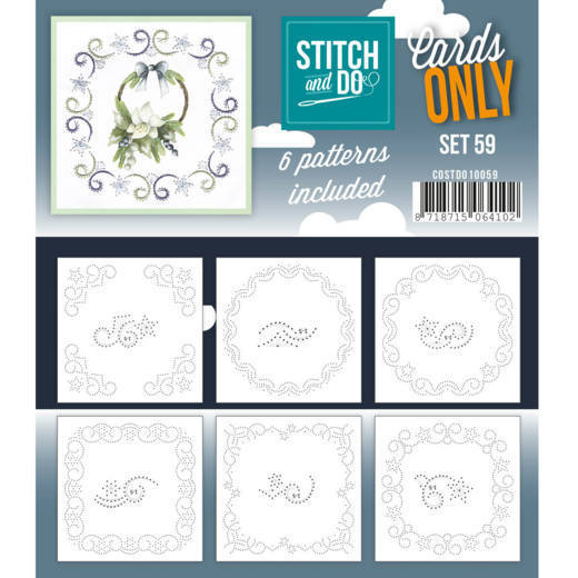 Cards only Stitch 59 - COSTDO10059