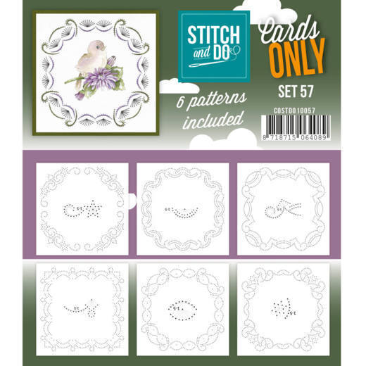 Cards only Stitch 57 - COSTDO10057