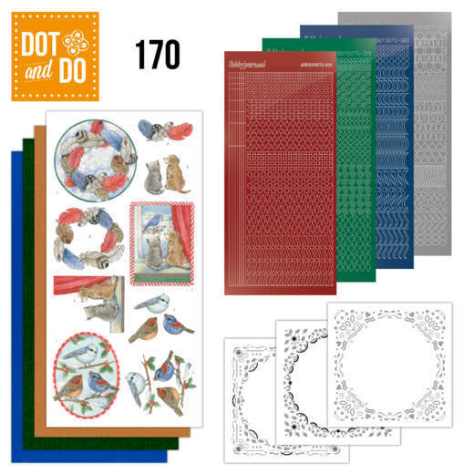 Dot and Do 170 Snow Scenes - DODO170