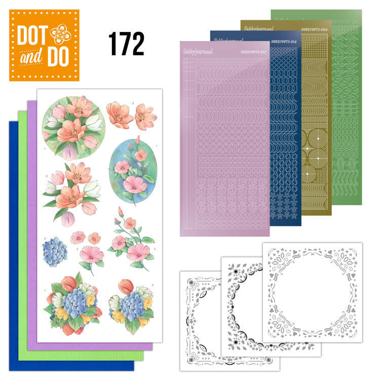 Dot and Do - Aquarel Tulpen en meer  - DODO172