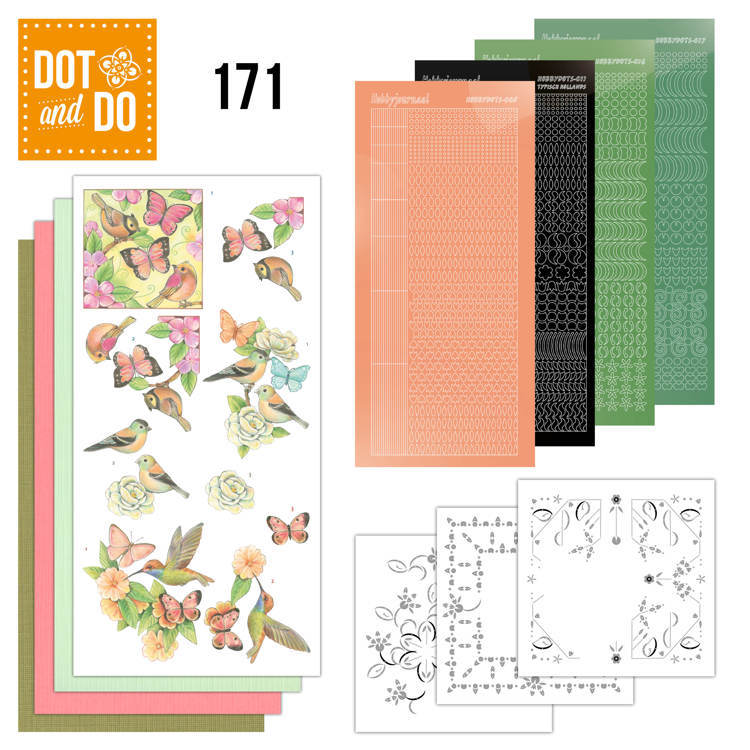 Dot and Do - Vrolijke lente  - DODO171