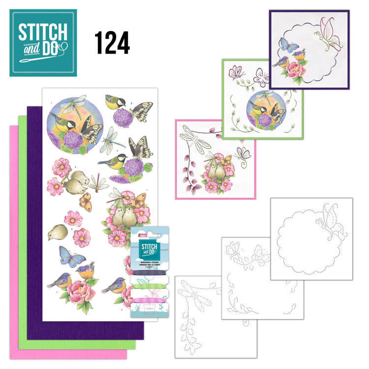 Stitch and Do - Happy Birds - STDO124