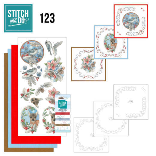 Stitch and Do -  Berries and Feathers - STDO123