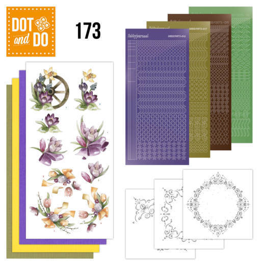 Dot and Do 173 - Precious Marieke - Spring Delight  - DoDo173