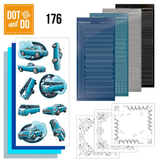 Dot and Do - Cars in Blue - DODO176