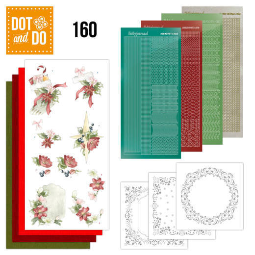 Dot and Do 160 Red Christmas Ornaments - Dodo160
