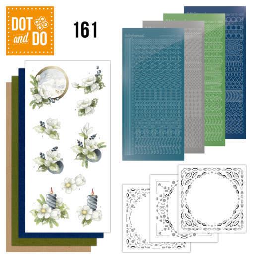 Dot and Do 161 Amaryllis and Blueberries - Dodo161