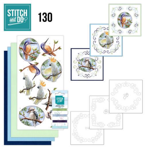 Stitch and Do 130 - Amy Design - Wild Animals Outback