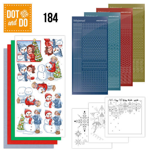 Dot and Do 184 - Yvonne Creations - Bubbly Girls - Christmas - Dodo184