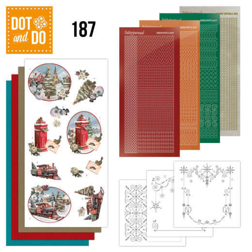 Dot and Do 187 - Amy Design - Nostalgic Christmas - Christmas Train - Christmas - Dodo187