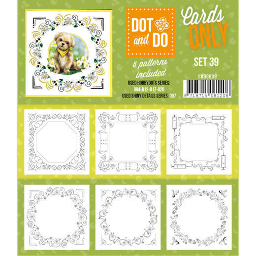 Hobbydots - Dot & Do - Cards Only - Oplegkaarten - Set 39
