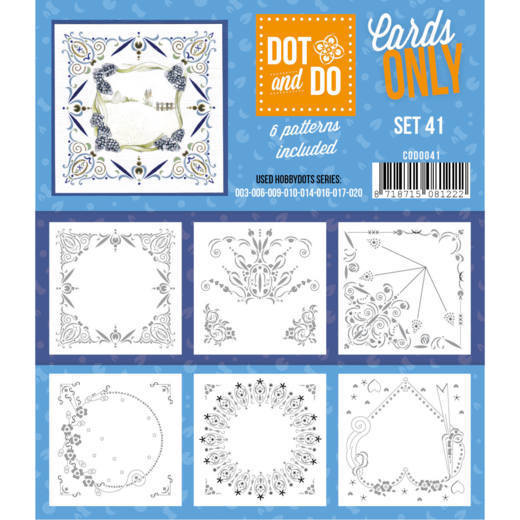 Hobbydots - Dot & Do - Cards Only - Oplegkaarten - Set 41