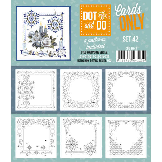 Hobbydots - Dot & Do - Cards Only - Oplegkaarten - Set 42