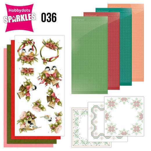Sparkles Set 36 - A Touch of Christmas Birds  - Precious Marieke - SPDO036
