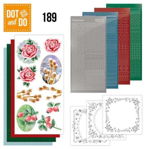 Dot and Do 189 - Jeanine's Art - Winter Flowers - Dodo189