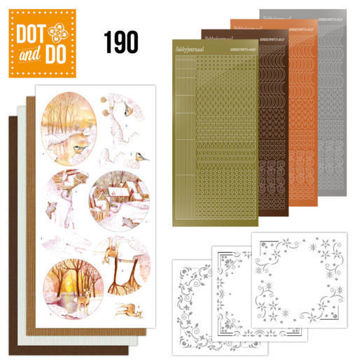 Dot and Do 190 - Jeanine's Art - Yellow Forrest - Dodo190