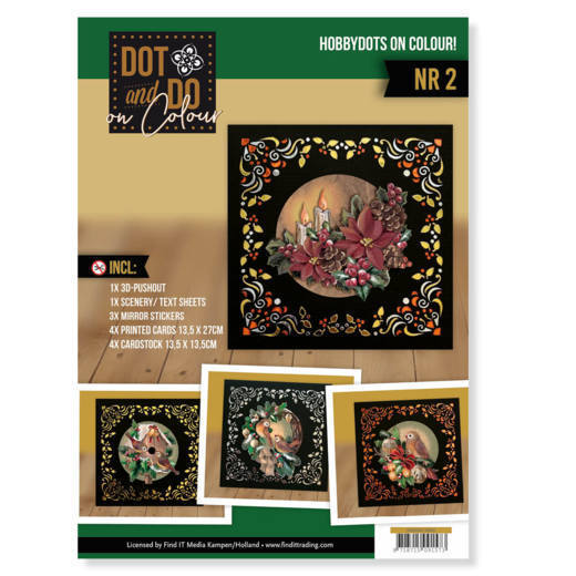 Dot and Do on Colour 2 (Christmas) - DODOOC10002
