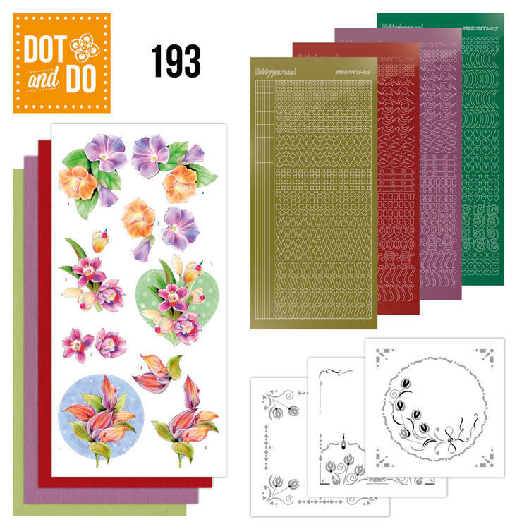 Dot and Do 193 - Jeanine's Art - Orchid - Dodo193