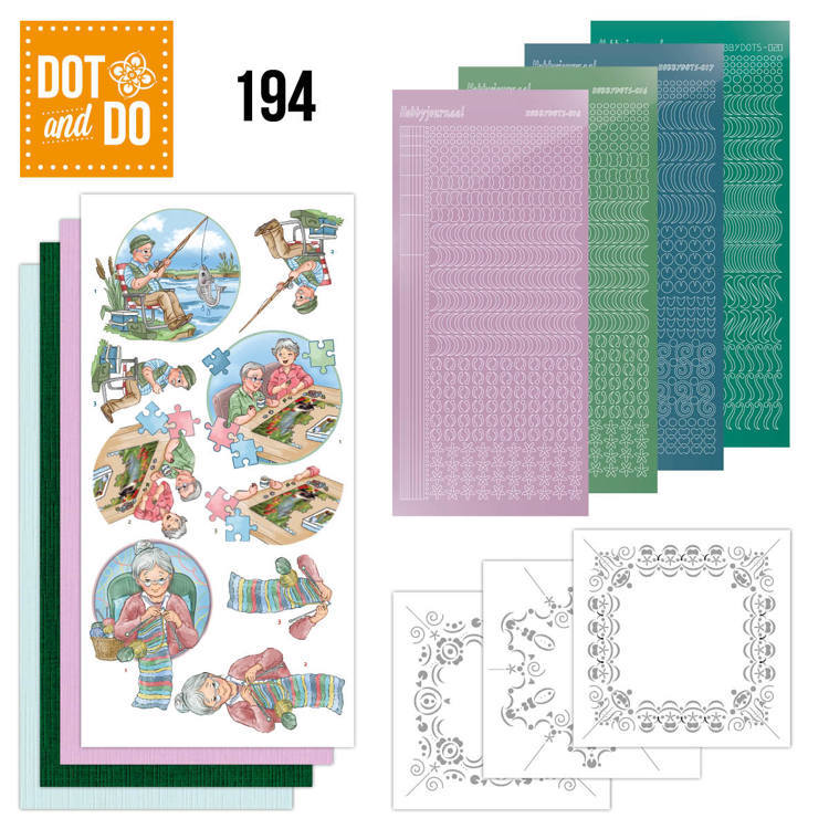 Dot and Do 194 - Yvonne Creations - Knitting - Dodo194