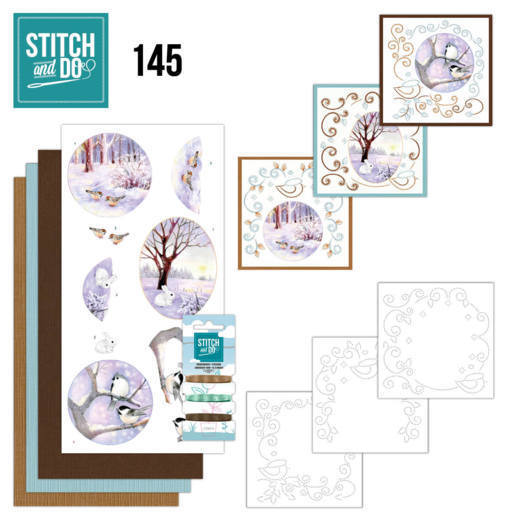 Stitch and Do 145 - Jeanine's Art  - Winter Landscape