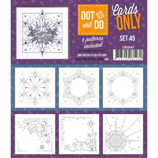 Hobbydots - Dot & Do - Cards Only - Oplegkaarten - Set 45