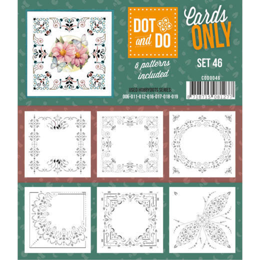 Hobbydots - Dot & Do - Cards Only - Oplegkaarten - Set 46