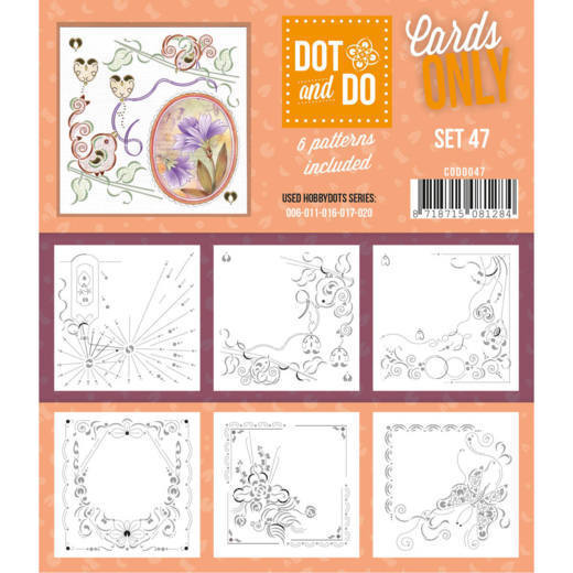 Hobbydots - Dot & Do - Cards Only - Oplegkaarten - Set 47