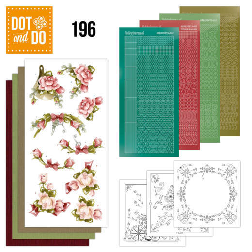 Dot and Do 196 - Precious Marieke - Romantic Roses - Dodo196