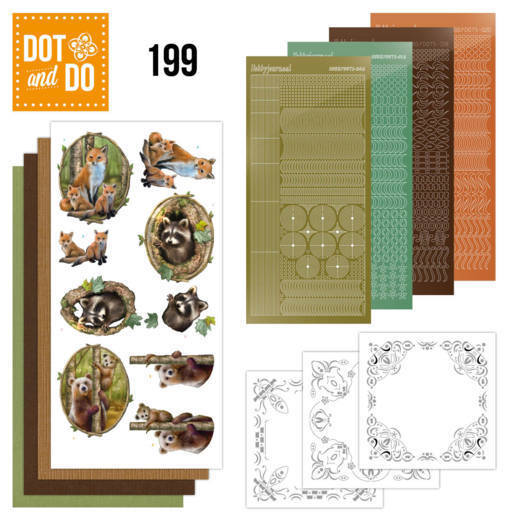 Dot and Do 199 - Amy Design - Forest Animals  - DoDo199