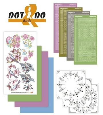 Hobbydots - Dot en Do Set - Birds - Dodo-012B