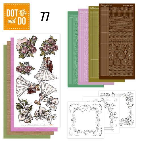 Hobbydots - Dot and Do 77 - Wedding - Yvonne Creations - Dodo077